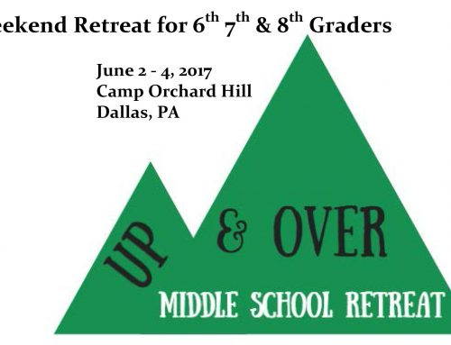 Up & Over Retreat June 2 -4