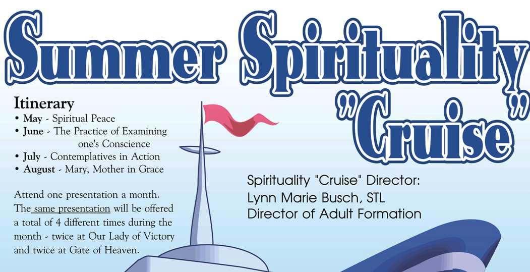 Summer Spirituality Cruise